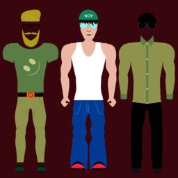 Clothing styles ベクター