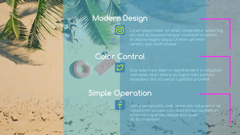 Modern Elegant Slideshow After Effects Template