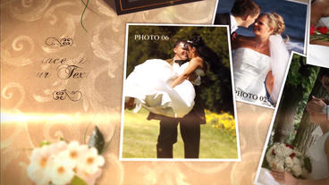 Wedding Album Plantilla de After Effects