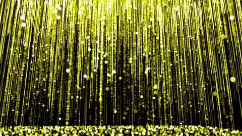Light Falling Gold 02 GIF