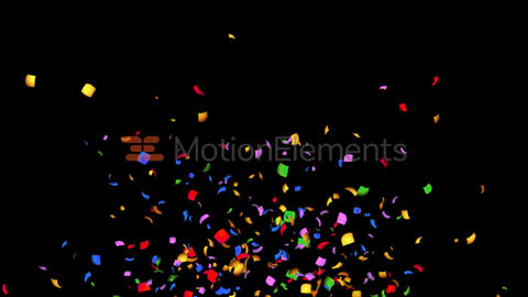 Confetti 4K /Particular After Effects Template