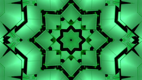 Abstract Kaleidoscope Background CG動画素材
