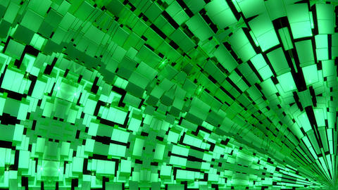 Green Abstract Background Animation
