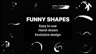 Funny Abstract Shapes After Effects Template