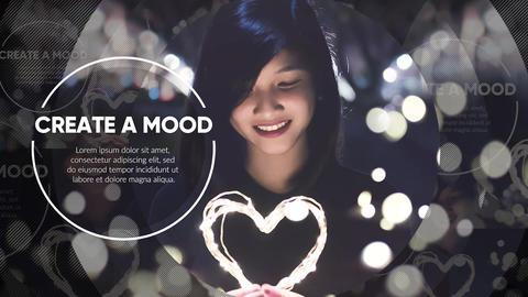 Modern Slideshow - Circle Promo Premiere Proテンプレート