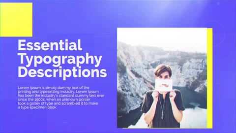 Minimal Portfolio Display After Effects Template