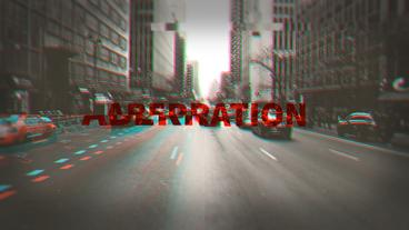 Aberration After Effects Template