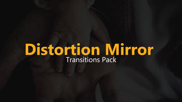 Distortion Mirror Transitions Pack Premiere Pro Template