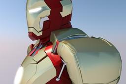 Ironman MK42 3D Modell