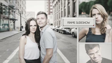 Frame Slide Show After Effects Template