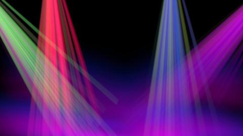 Disco Light Theme CG動画素材