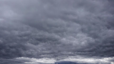 Stormy Dark Grey Time Lapse Clouds Footage