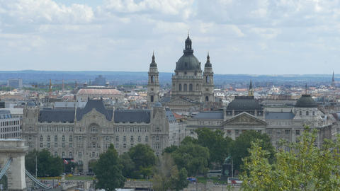 St Stephen s Basilica in Budapest 영상물