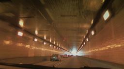 4K Inside the Fort Pitt Tunnel POV 3803 Footage