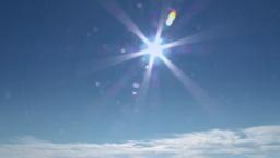 4K Sunny Sky 3835 stock footage