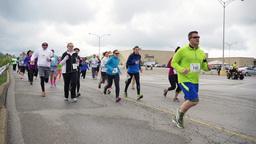 4K Marathon Runners 4336 Footage
