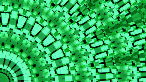 Background Green Shimmer Kaleidoscope Abstract Animation