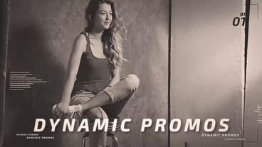 Dynamic Promos After Effects Template