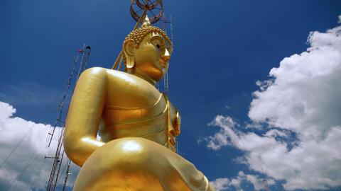 Big Buddha statue Footage