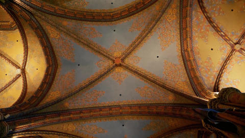 Church gothic style ceiling Live Action