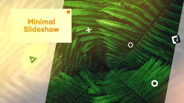 Minimal Slideshow Premiere Proテンプレート