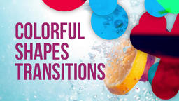Colorful Shapes Transitions Premiere Pro Template