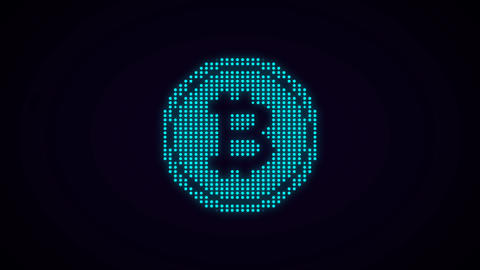 Illustration of e-currency symbol Photo