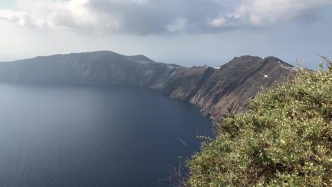 Santorini Sea View Footage