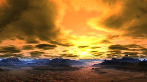 Bright, Passionate Sunset GIF
