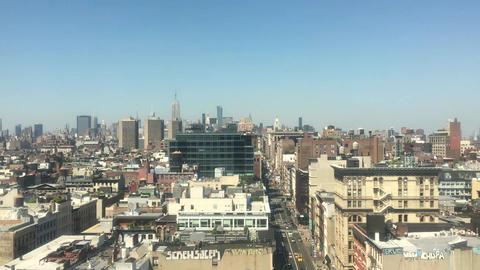 New york urban city new york city Footage