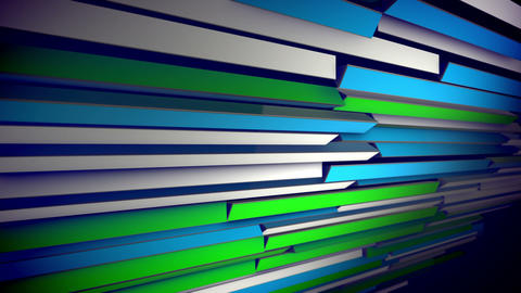 Abstract Colorful Dynamic Moving Blinds Animation