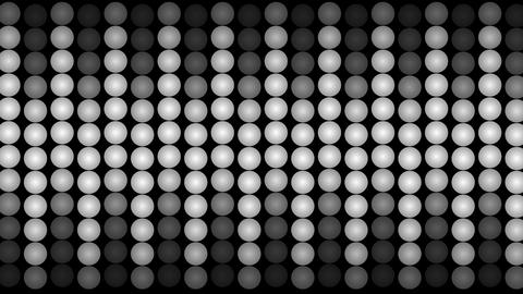 Led panel lights moving up and down Animation