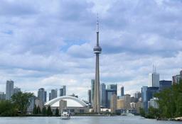 Toronto Canada Skyline Footage