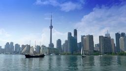 Toronto Canada Establishing Shot Footage