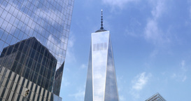 4K Time Lapse of Freedom Tower Footage