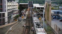 4K Pittsburgh Subway Station Footage