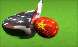 USA vs. China フォト