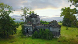 Old Abandoned Wooden Church 영상물