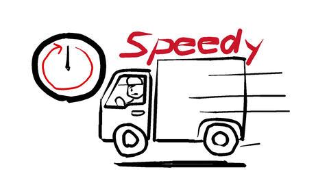 Fast delivery 애니메이션