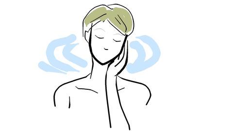 Lotion-moisture Animation