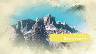 Upbeat Inspired Slideshow 애프터 이펙트 템플릿