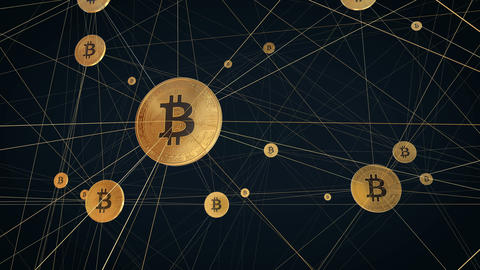 Bitcoin Network Animation