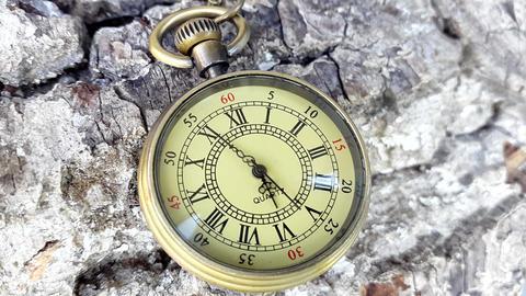 Time Lapse Of Pocket Clock. Six hours Of Pocket Clock ビデオ