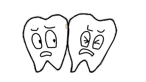 Tooth decay Animation