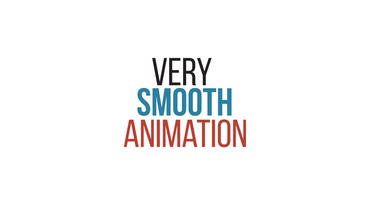 Stylish Kinetic Typography After Effects Template