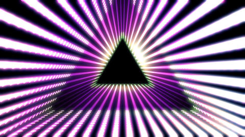 Triangle VJ 02 HD Animation