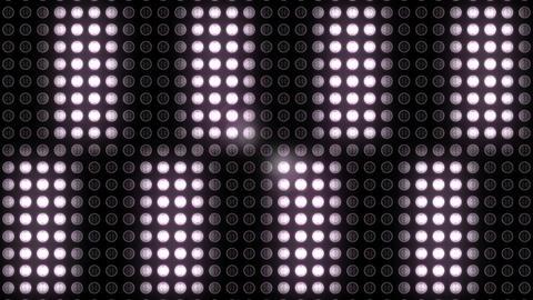 Flickering light at night club 4k Footage