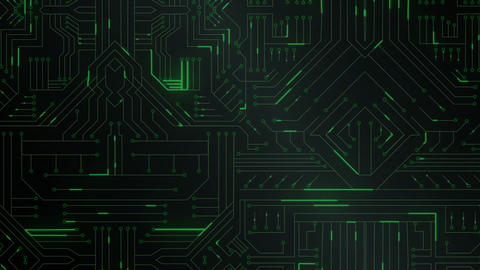 Circuit board 4k Live Action
