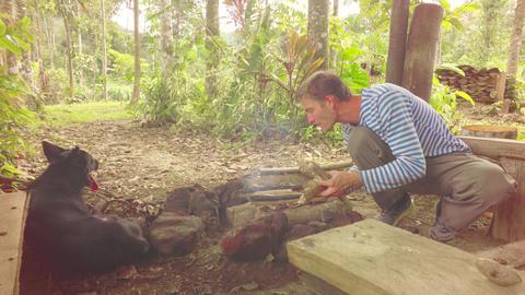 Society Self Isolation In Ecuadorian Jungle Live Action