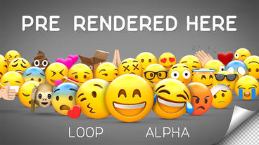 Emoji Pack After Effects Template